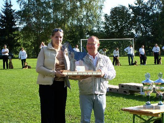 Katharina und LRO Uwe Krachudel